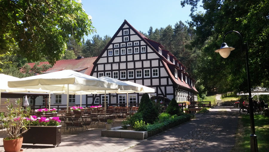Unser Kurshotel Springbachmühle im Hohen Fläming.